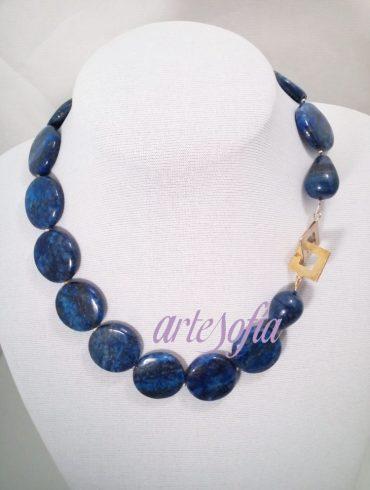 Collar Lapislazuli-1. Artesofia