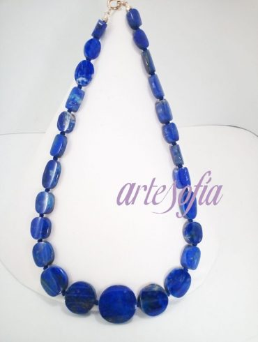 Collar Lapislazuli-6. Artesofia.