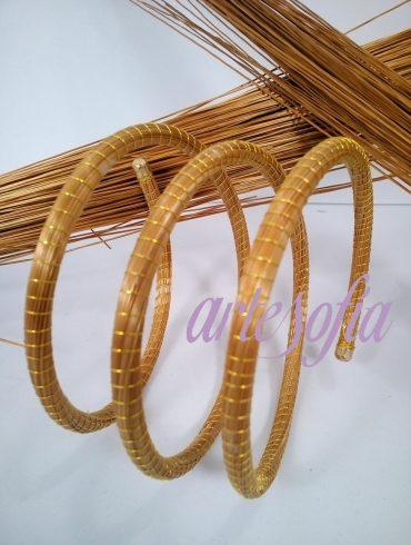 Pulsera Capim Espiral. Artesofia