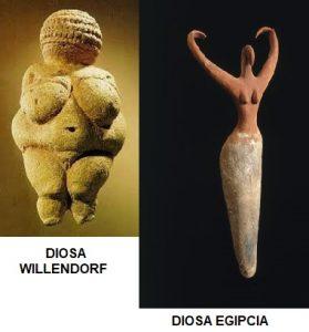 Diosas antiguedad.