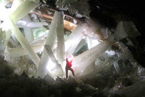 Cueva de cristales de yeso Naica