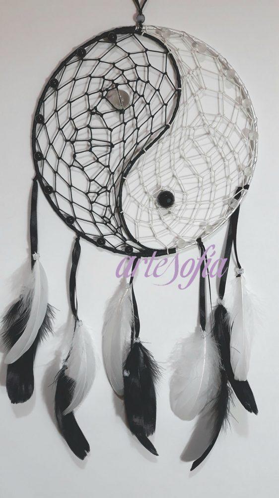 Atrapasueños Yin Yang. ARTESOFIA