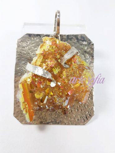 ARTESOFIA-AQUAAURA DORADA-GOLDEN SOBRE PLATA